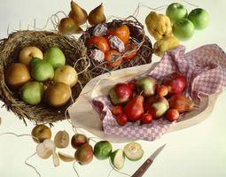 Ernæringsmessige fakta av en asiatisk pære