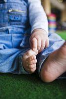 Hvordan vet jeg om et barn er plattfot
