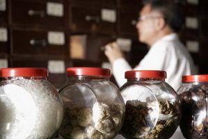 Homeopatisk middel for tap av lukt og smak