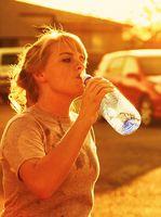 Hva er normal vann vekt for et menneske?