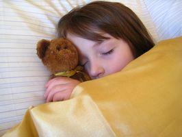 Syke effektene av søvnmangel på barn