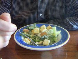 Kalorier i en liten Caesar Salad