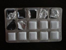 Utslagene av for høy Gum Chewing
