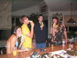 Næringsinnhold av Bananas