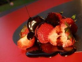 Ernæringsmessige verdien av sjokolade-jordbær