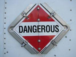 Hvordan Fullfør for Farlig avfall etikett?