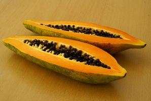 Næringsstoffer og vitaminer i økologisk Tørket Papaya