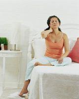 Hvordan å sove med Legs støttet opp
