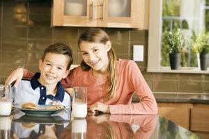 Hvordan å innføre en sunn meny for Kids