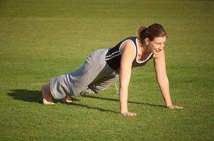 Hvordan bygge muskler i fem dager med Pushups