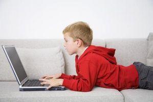 Hva er farene ved bærbare datamaskiner for barn?