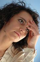 Overgangsalder og støt på kjønnsleppene