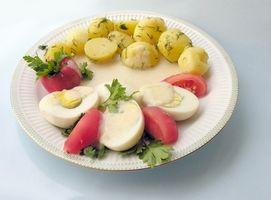 Må vegetarianere spiser egg, brød og melkeprodukter?