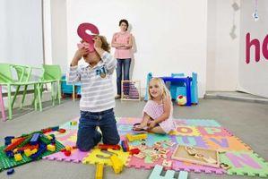 Aktiviteter for førskolebarn med Cerebral Parese