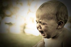Middle ørebetennelse i spedbarn