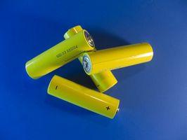 Hvordan skifte batterier på en Crest Pro Whitening SpinBrush