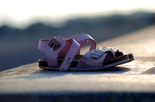 Sandaler og bunions