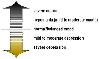 Hva er symptomene på manisk depresjon hos voksne?