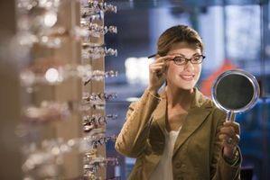 Hvordan justere Brille rammer som er klemme Your Head