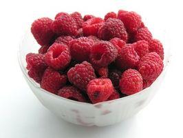 Hva Vitaminer er i Raspberries?
