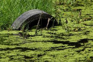 Slik fjerner fosfat fra avløpsvann