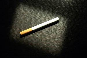 Advarsel tegn på sigaretter
