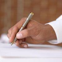 Hvordan skrive med din nondominant Hånd