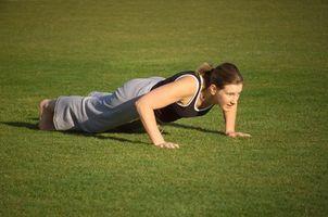 Hvordan forbedre Upper Body Strength Med Push Ups