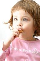 Rask og enkel snacks for barna