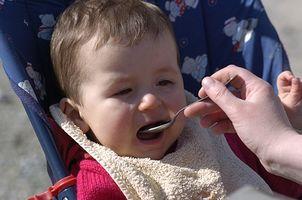 Diett for en baby på seks måneder