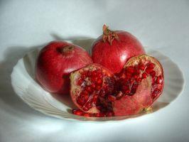 Når Are Pomegranates Klar til å spise?