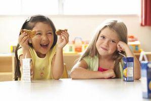 Hvor mange kalorier bør en ni år gammel Ha på en dag?