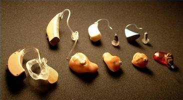 Ulike typer høreapparater