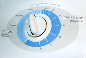 Hvilken type røret brukes til Vent en tørketrommel?