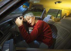Hva er farene ved Kjøring med trøtthet?