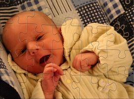 Utvikling av en 1 måned gammel baby