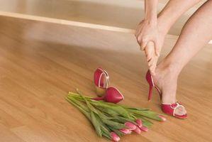 Tegn og symptomer på en revet sene i foten