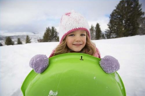 Hvordan å holde barna aktive i vinter