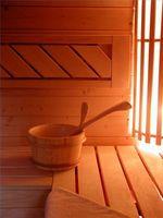 Hvordan bruke en badstue og steamrom Riktig
