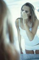 Forskjellen mellom en Cyste og kvise på nesen