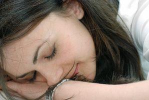 Tegn på mangel på søvn