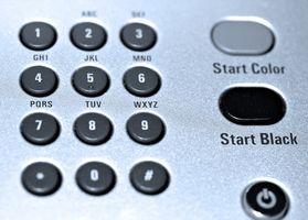 Hvordan rengjør jeg en K Series HP Officejet?