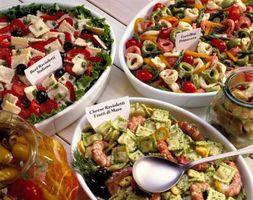 Konserveringsmidler på Restaurant Salater