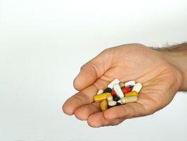 Matvarer og vitaminer for en alkoholiker