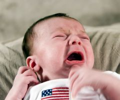 Naturlige og urte-løsninger for en babyens mage med diaré