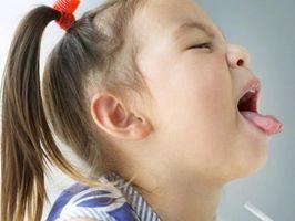 Tørr, vedvarende hoste i Barnerettsmidler