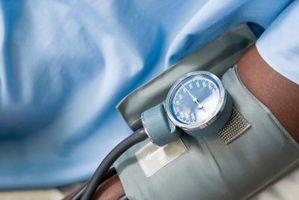 Blood Pressure i leggen Vs.  Arm