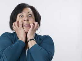 Hva er de fysiske bivirkningene av frykt?