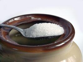 Lav Raffinert sukker Diet