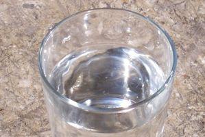 Hvordan erstatte brus med vann